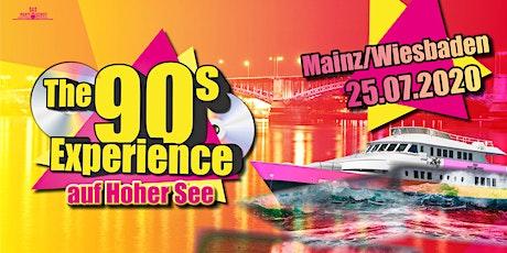 Das Partyschiff - The 90s Experience - 90er Partyschiff tickets