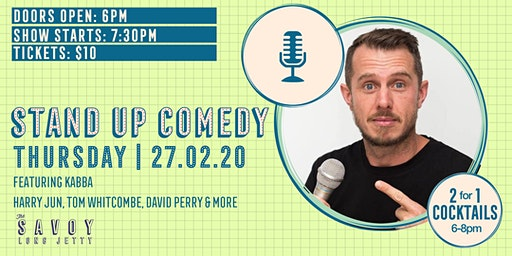 WE'RE OPEN - Stand Up Comedy Night!
