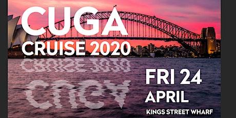 CUGA Cruise 2020 tickets