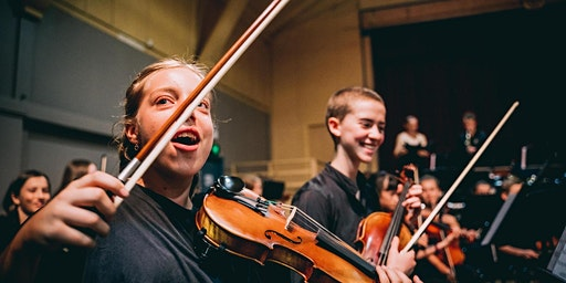 THE STRING ARC- Featuring the BYO String School and Sinfonia