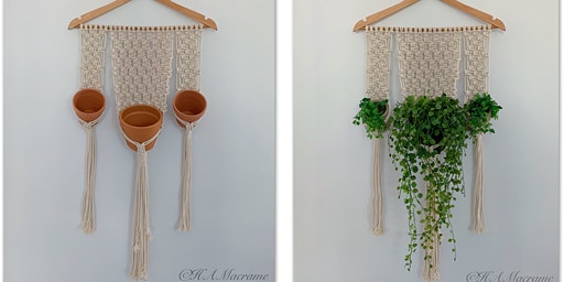 Learn to Macrame - Terracotta Trio