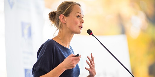 Find your Voice - become a confident public speaker and share your message