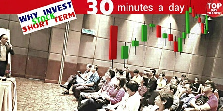 Why  Investor DAYTRADE STOCK ,30 min a day rather than INVEST,BUY,HOPE,PRAY tickets