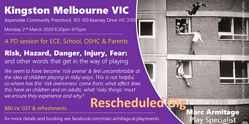 Risky Dodgy Dangerous Play - in Kingston Melbourne VIC
