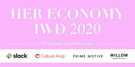 Her Economy International Women's Day 2020 tickets