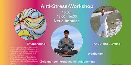 """Anti-Stress-Workshop """"mit allen Sinnen"""" in Ludwigsburg"""