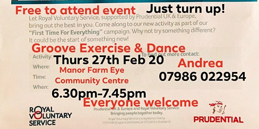First Time for Everything - Free Groove Dance & Exercise Session