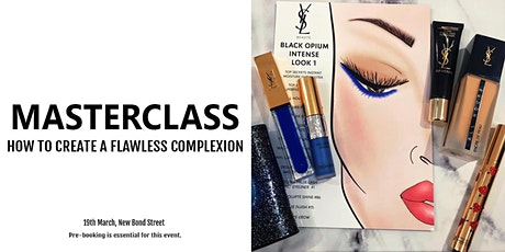 YSL Beauty Masterclass: How To Create The Black Opium Makeup tickets