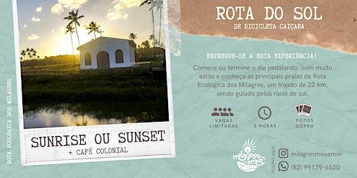 Rota do Sol de Bicicleta + Café Colonial