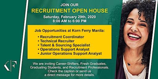 Korn Ferry Manila- Recruitment Open House