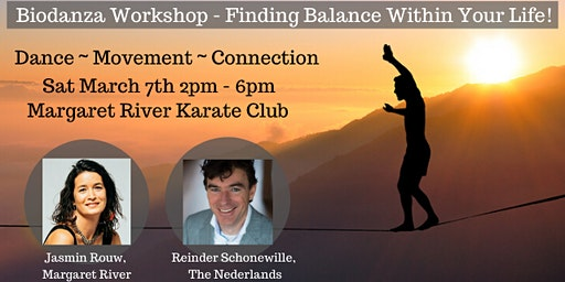 Biodanza Workshop  - Finding Balance Within Your Life!
