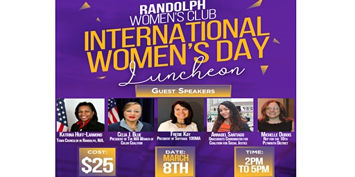 Randolph Women's Club International Luncheon