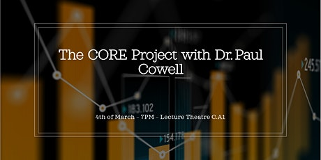 The CORE Project with Dr. Cowell tickets