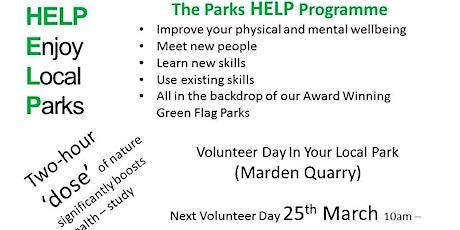 Volunteer day at Marden Quarry tickets