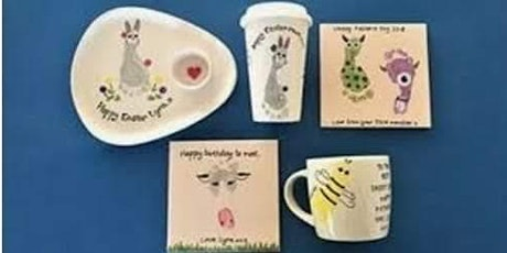 EASTER POTTERY PAINTING WITH CHEVIOT CERAMICS tickets