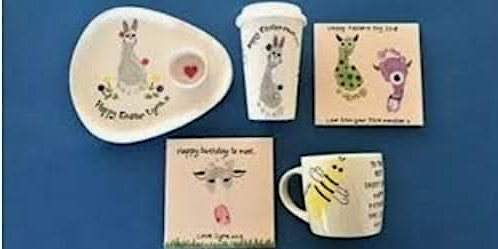 EASTER POTTERY PAINTING WITH CHEVIOT CERAMICS