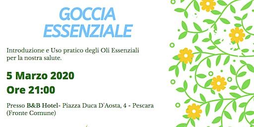 Pescara - Corso Introduttivo Gratuito sugli Oli Essenziali