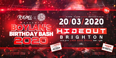 Boylan's Birthday Bash 2020