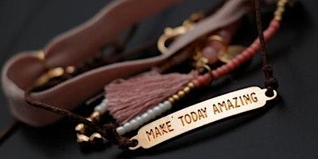 Macrame Bracelet Making Workshop tickets