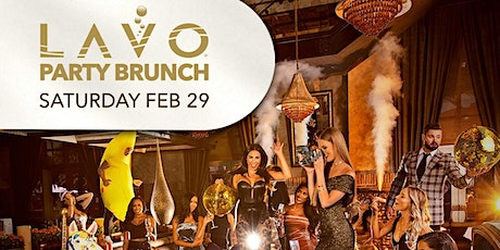 LAVO Party Brunch (Daytime Party w/free Open-bar ) tickets