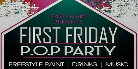 1st Fridays Paint On Purpose (P.O.P.) Party  tickets