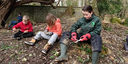 Wild Tribe Woodland Drop off Day and Easter Egg Hunt (for ages 5-12years)