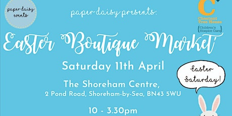 Paper Daisy Events Easter Boutique Makers Market tickets