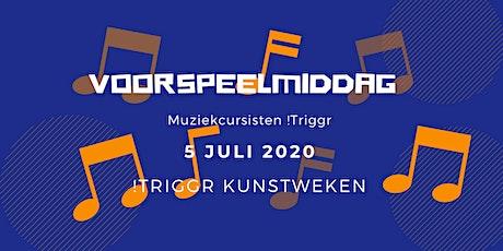 Voorspeelmiddag muziekcursisten !Triggr tickets