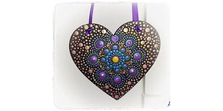 Hanging Heart Dotting Mandala Workshop- Make & Take tickets