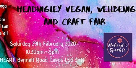Headingley Wellbeing Vegan and Craft Fair tickets
