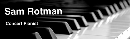Piano Concert with Sam Rotman