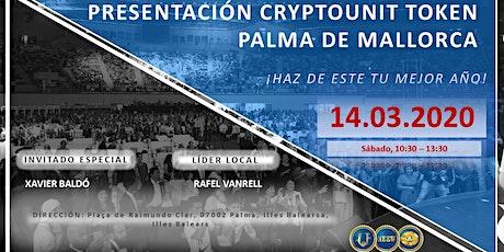PRESENTACIÓN CRYPTOUNIT TOKEN EN PALMA DE MALLORCA entradas