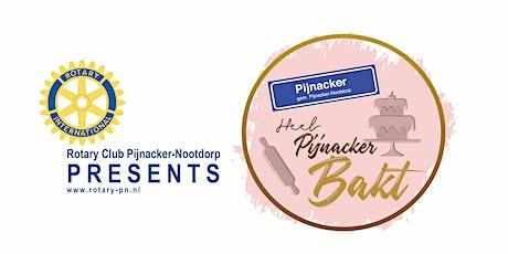 Heel Pijnacker Bakt - CUPCAKES (halve finale) tickets