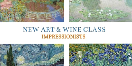 Art + Wine Evening 'Impressionist landscapes' tickets