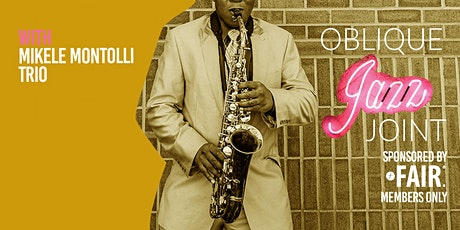 Oblique Jazz Joint: March tickets