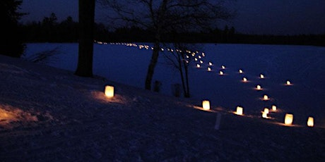 Treehaven- Spring Forward Luminary Snowshoe Walk tickets