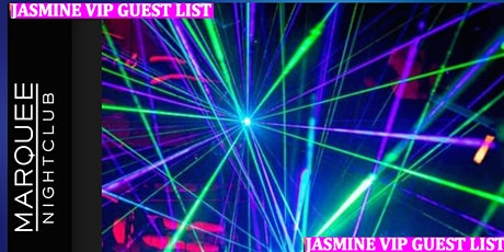 Jasmine Wright's Free VIP List: Free Entry & Open Bar   tickets