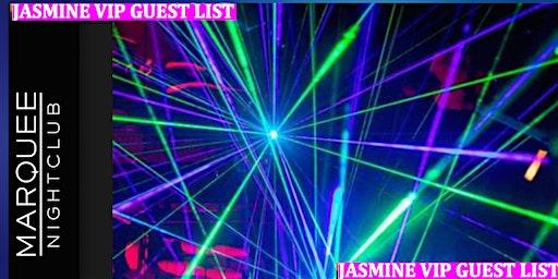 Jasmine Wright's Free VIP List: Free Entry & Open Bar