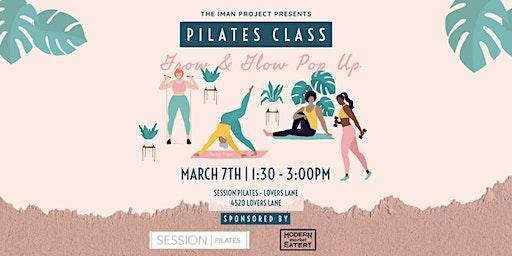 Grow & Glow Pop Up: Pilates Fitness Class