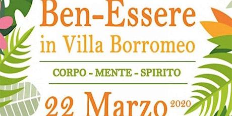 La Felicità parte dall'Intestino c/o Ben-Essere in Villa Borromeo biglietti