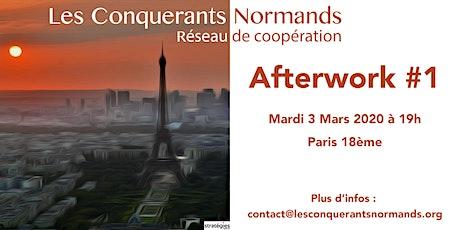 """1er Afterwork du nouveau réseau """"Les Conquérants Normands"""" billets"""