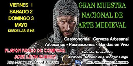 GRAN MUESTRA NACIONAL DE ARTE MEDIEVAL entradas