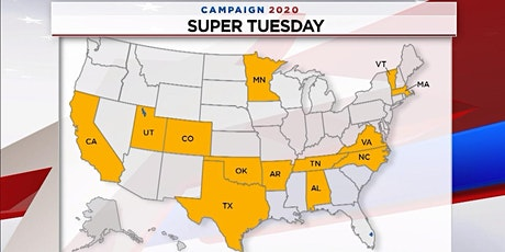 Super Tuesday! (a nonpartisan primary watch  viewing party) tickets
