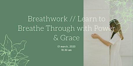 Breathwork // Breathe Through with Power & Grace tickets