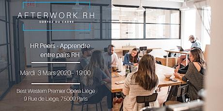 HR Peers - Apprendre entre pairs RH AfterWork RH - Mars 2020 billets