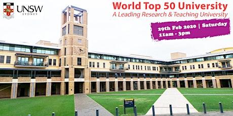 Meet World Top 50 Uni - UNSW Sydney in Singapore tickets