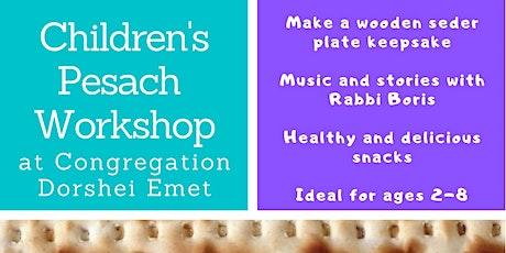 Children's Pesach Workshop tickets