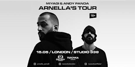 Miyagi & Andy Panda в Лондоне  - Studio 338 tickets