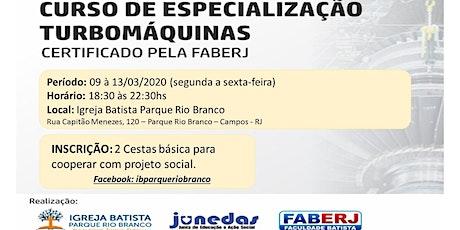 Curso de Formação em Turbomáquinas - Março 2020 tickets