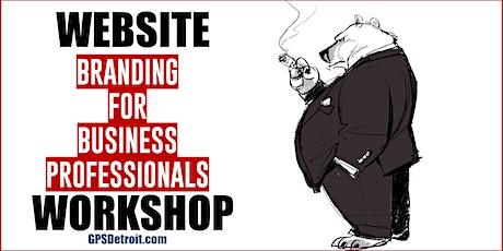 Website Branding For Business Professionals tickets